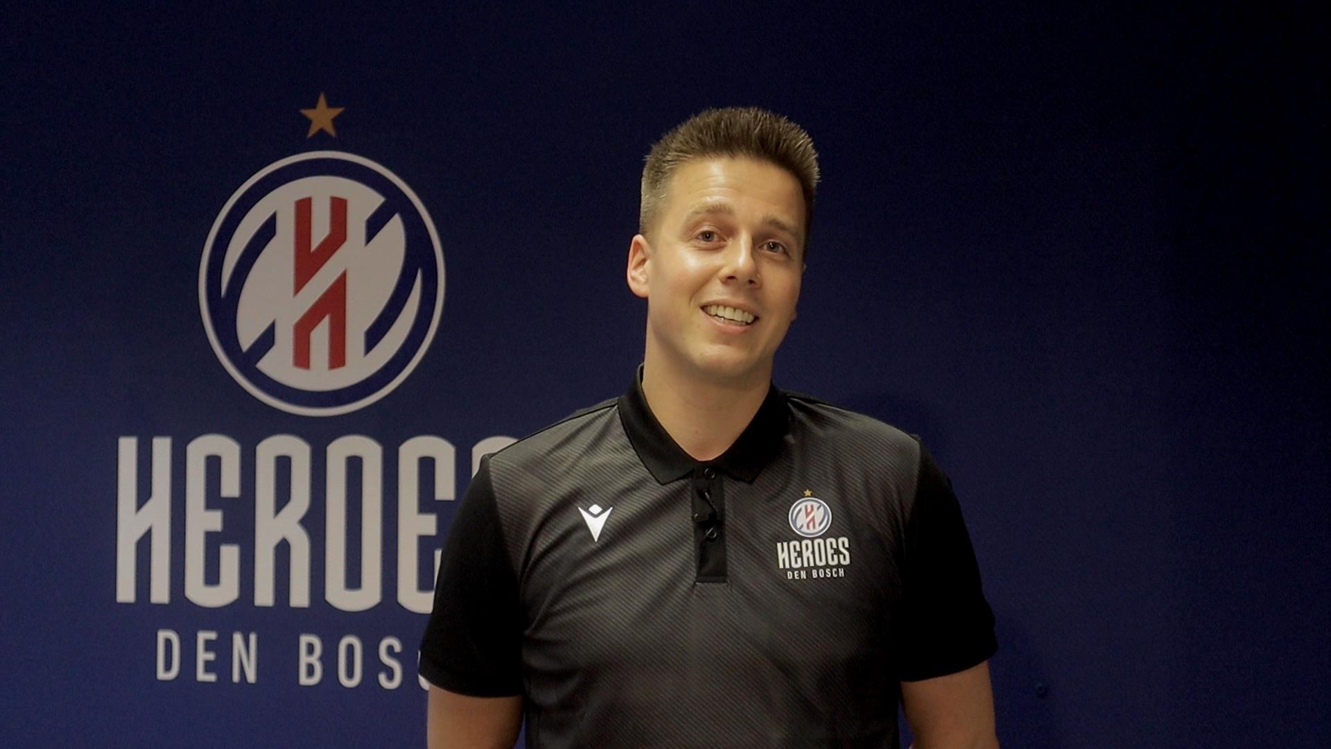 Mike de Kraker nieuwe assistent coach Heroes Den Bosch