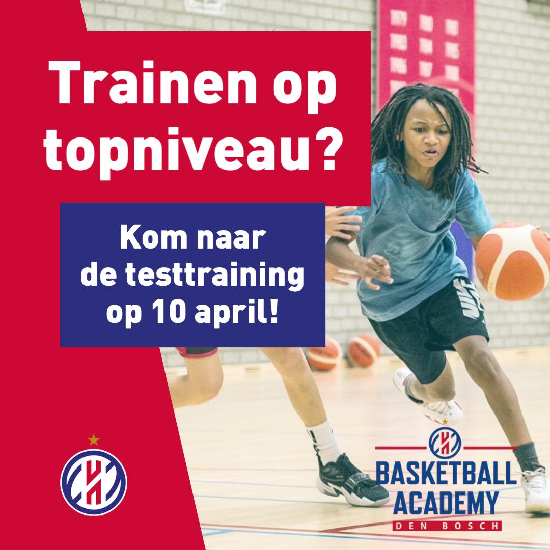 Academy Heroes Den Bosch nodigt je uit voor test op 10 april 2021