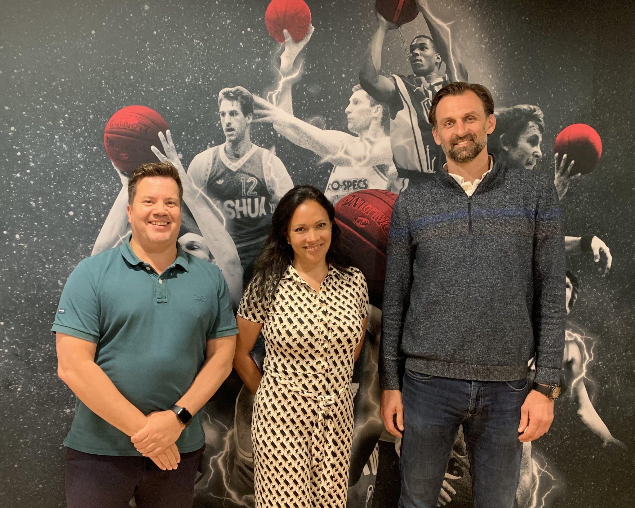 Drago Pašalić en Teska Dinkla voorzien Heroes Basketball Academy van nieuw elan.
